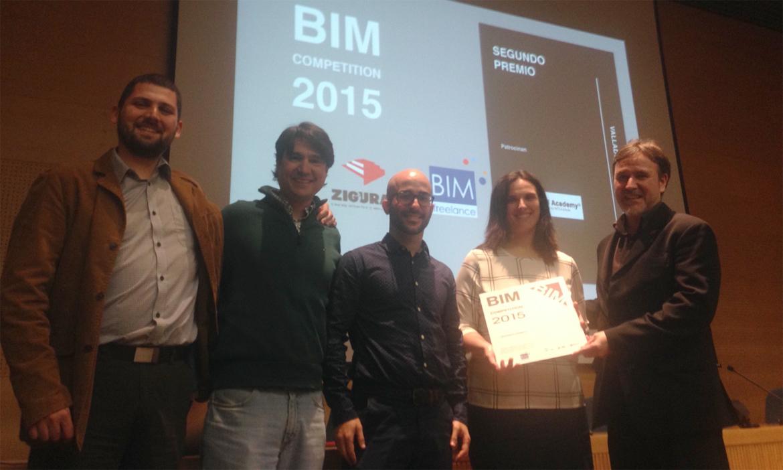 KAIZEN en el equipo ganador del 2º Premio BIM COMPETITION 2015. Valladolid